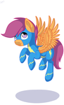 Scootaloo the Wonderbolt. by Shiarr