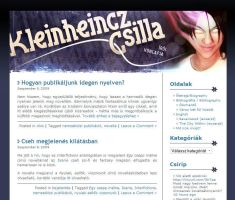 Blog Header for Csilla by gaborcsigas