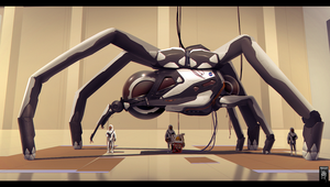 NASA Spider by mohzart