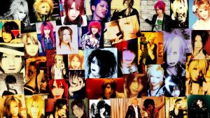 J-Rock VK Wallpaper Collage by xSugarPainAkatsukix