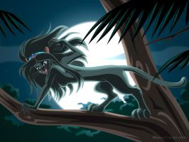 Jasmine as a Panther by manony