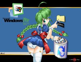 Windows ME-tan by HoiHoiSan