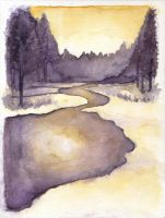 Watercolour Practice 06 by Ninelyn