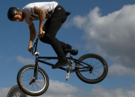 bmx tail whip by mo-guy