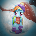 Rainbow Dash in Tanks For the Memories (revised) by Sol-Republica