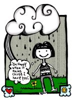 When it rains. by reavel