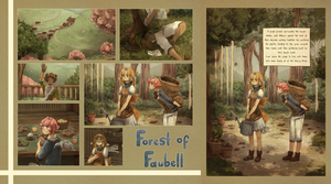Forest Of Faubell (Digital Illustration Storybook) by Ekkoberry