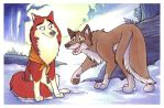 Balto and Jenna by marymouse