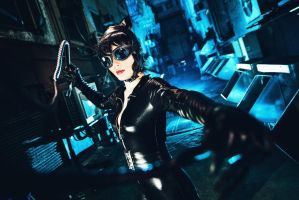 catwoman (selina kyle) cosplay by serinanires