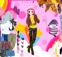 Cassandra Disco Dressup Game by willbeyou