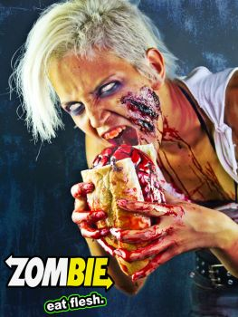 Zombie Eat Flesh by TamvakisPhoto