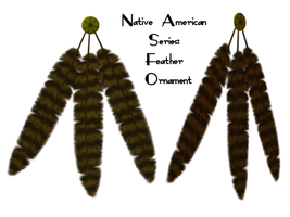 Native Series: Feather Decor by Sheona-Stock