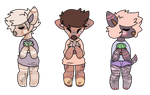 adoptables - open 3/3 by madariichu