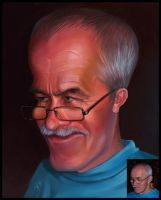 Caricature for a father by creaturedesign