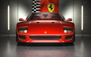 F40 Tribute by subaqua