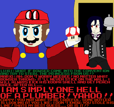 I am Simply One Hell of a Plumber! by ChosenMii