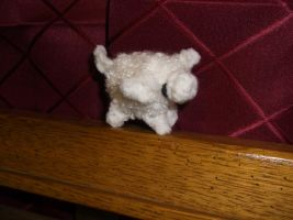 Mini Crochet Sheep by ShadowOrder7