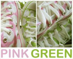 pink green by openspaces