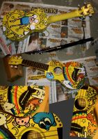 Adventure time Ukulele by Captainfusion