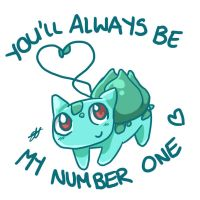 001- Bulbasaur by Moo-feeler