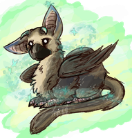 Trico The Last Gaurdian by 0MoonBoots0