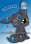 Umbreon shiny by Veemonsito