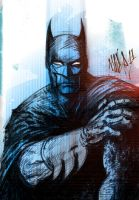 Batman Sketch by MaxRomanchak