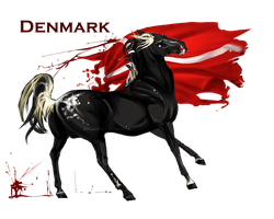 Horse Hetalia: Denmark by Moon-illusion