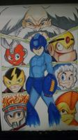 Mega Man 1 by marcus-g3100