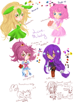 Prelude Chibis by Milady-Alluca