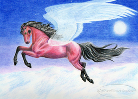 Art Trade: Learning to Fly by SilverFlameWanderer