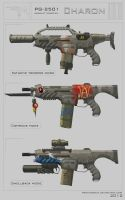 Charon weapon concept by ProxyGreen