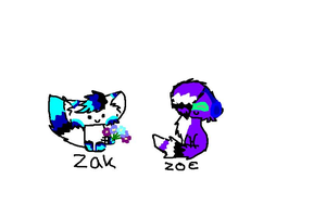 Zoe and zak by Bexgirl2803