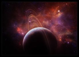 Moment in space XXIX by Funerium