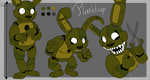 Plushtrap reference sheet by SideshowFreddy