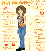 Meet The Artist by Ruef-Bae