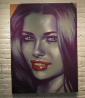 Adriana Lima Spray by angotti81