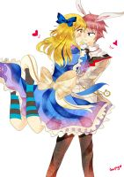 Nalu in Wonderland ( AU ) by Neephy