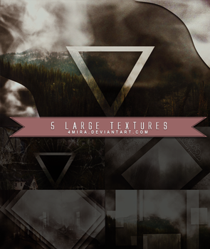 5 Large Textures Pack #4 by 4mira