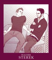 STEREK TEACHER comic commission by Romax pg00 by Slashpalooza