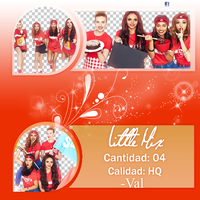 Pack PNG de Little Mix by OverboardPhotopack78