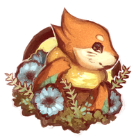 Buizel Portrait by adalli