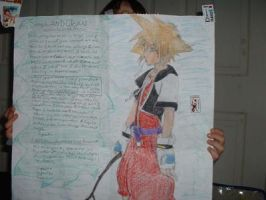 Sora-1st drawing by Uso-Chi
