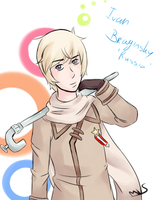 Aph Russia by CagedNightmare