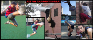 A collage of parkour and Kicks of me. by Raded-Raikage