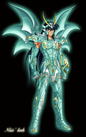 Shiryu armure divine du dragon by Niiii-Link