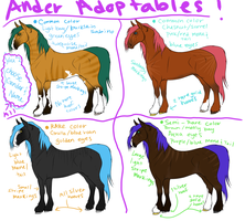 Ander Plains Horse Adoptables by FluffyAri