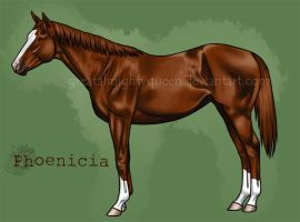Yearling: Phoenicia by Greatalmightyqueen