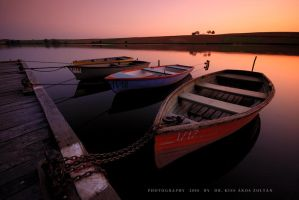 The boats of Deseda by DimensionSeven