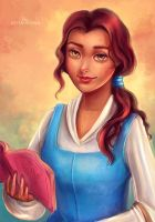 Belle (Beauty and the Beast) by VeraVoyna